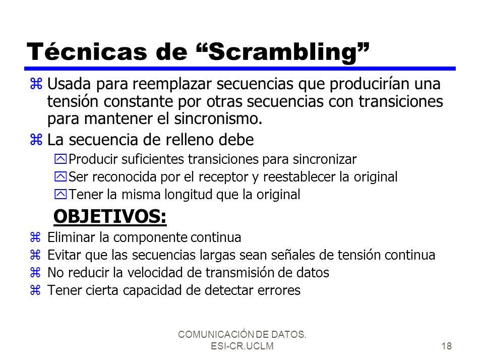 Técnicas de Scrambling