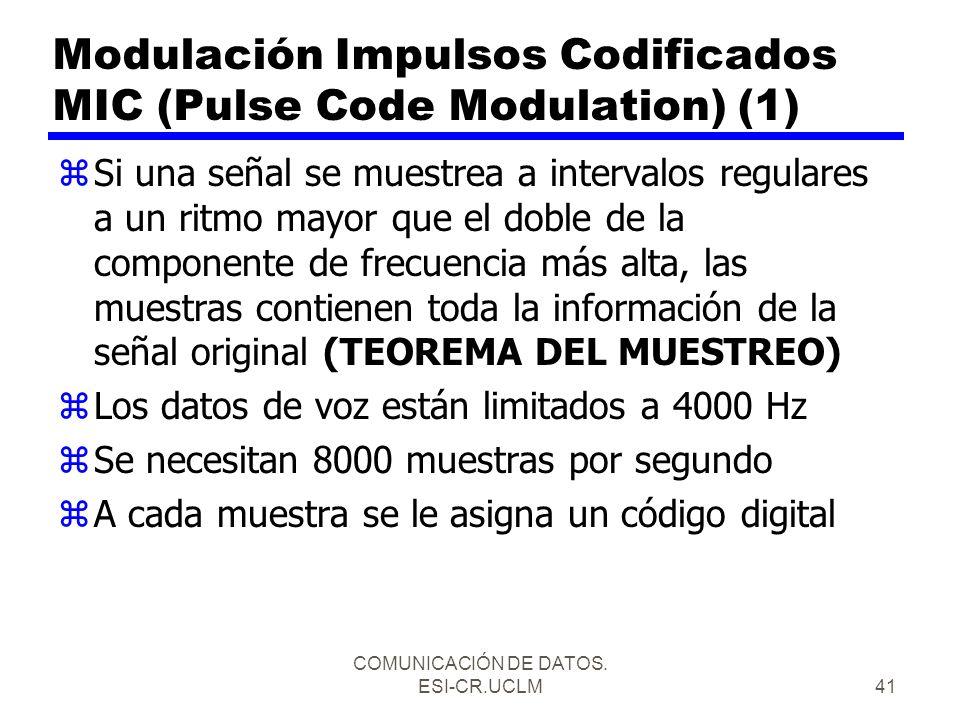 Modulación Impulsos Codificados MIC (Pulse Code Modulation) (1)