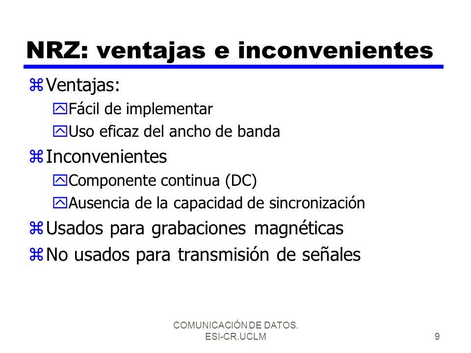 NRZ: ventajas e inconvenientes