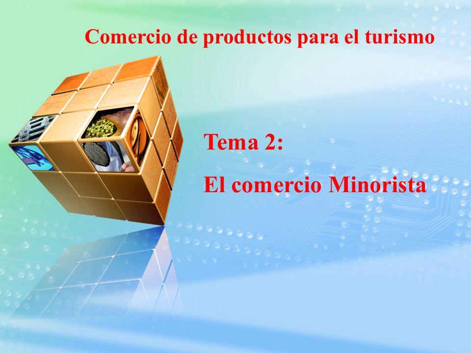 Comercio de productos para el turismo