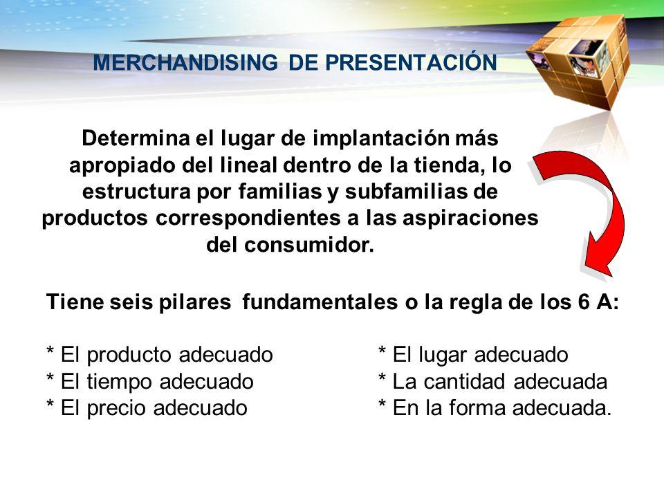 MERCHANDISING DE PRESENTACIÓN