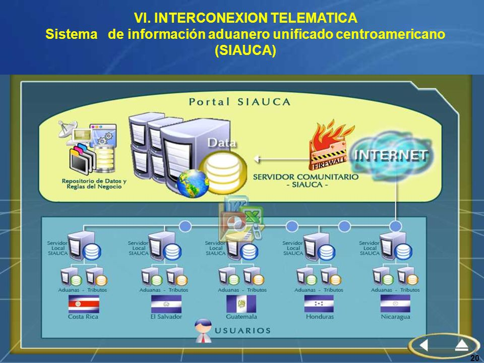 VI. INTERCONEXION TELEMATICA