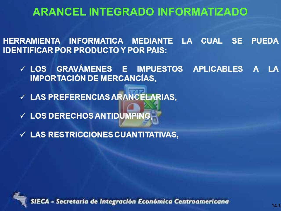 ARANCEL INTEGRADO INFORMATIZADO