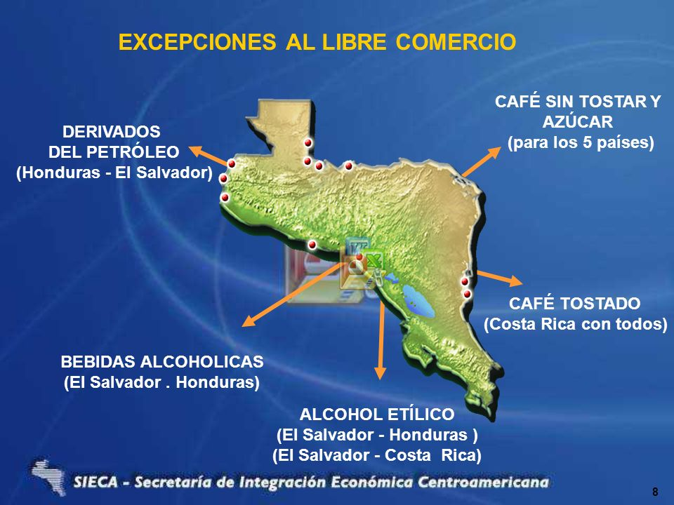 EXCEPCIONES AL LIBRE COMERCIO