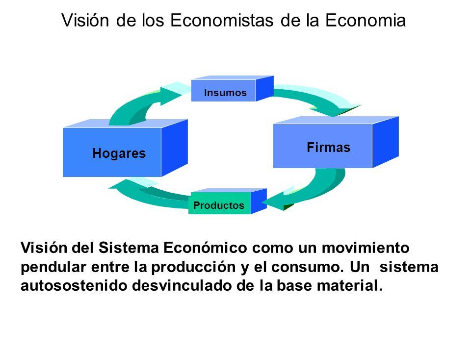 Visión de los Economistas de la Economia
