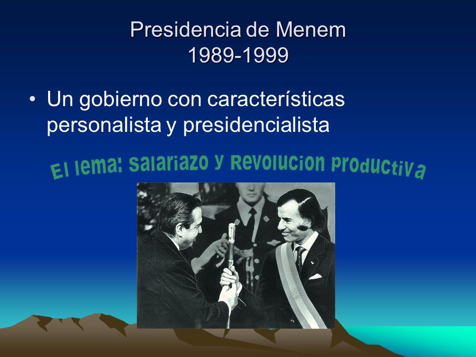 El lema: Salariazo y Revolucion productiva