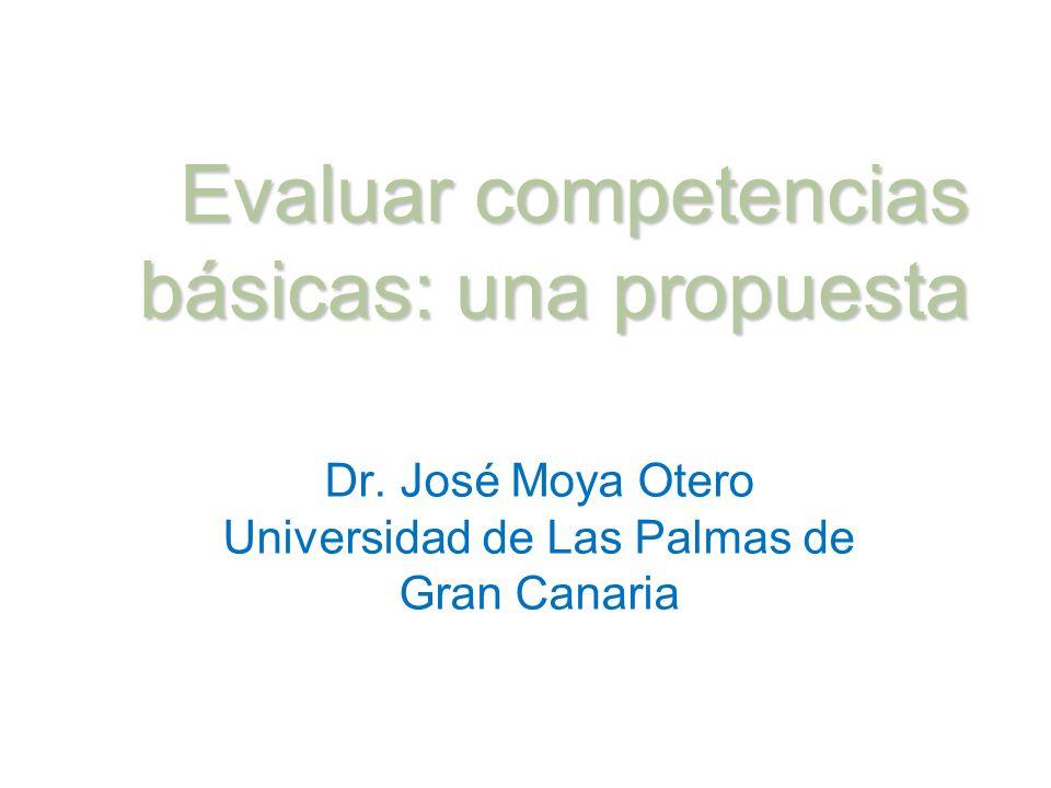 Evaluar competencias básicas: una propuesta
