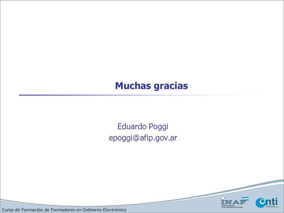 Eduardo Poggi epoggi@afip.gov.ar