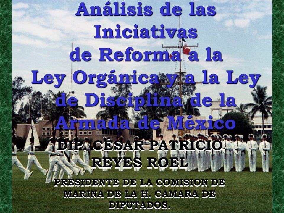 Análisis de las Iniciativas de Reforma a la Ley Orgánica y a la Ley de Disciplina de la Armada de México