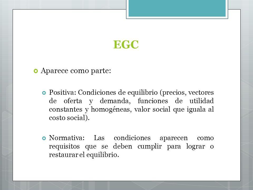 EGC Aparece como parte: