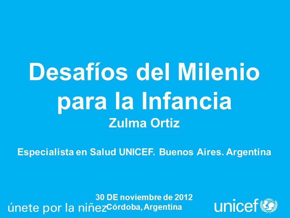 Desafíos del Milenio para la Infancia