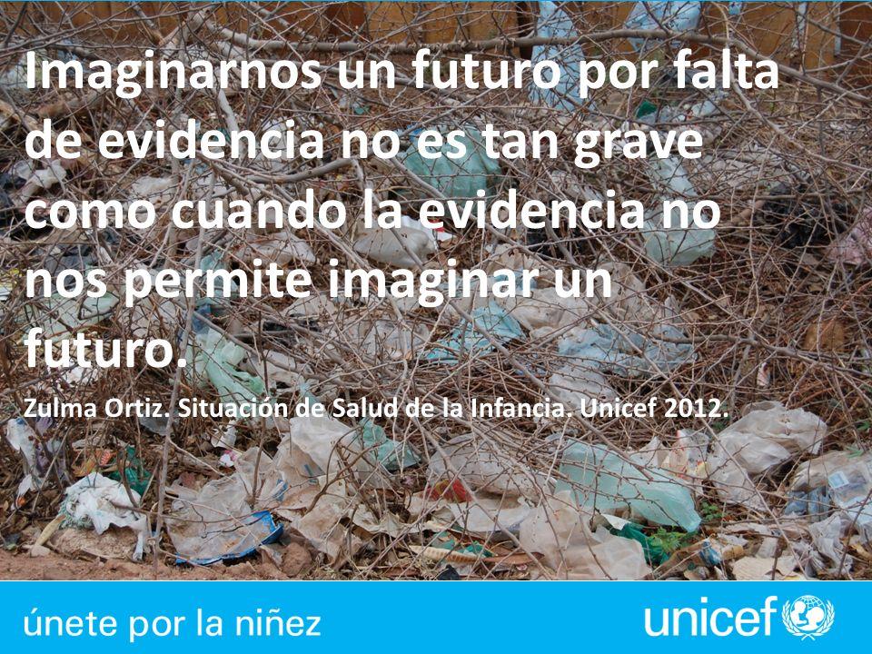 Imaginarnos un futuro por falta de evidencia no es tan grave como cuando la evidencia no nos permite imaginar un futuro.