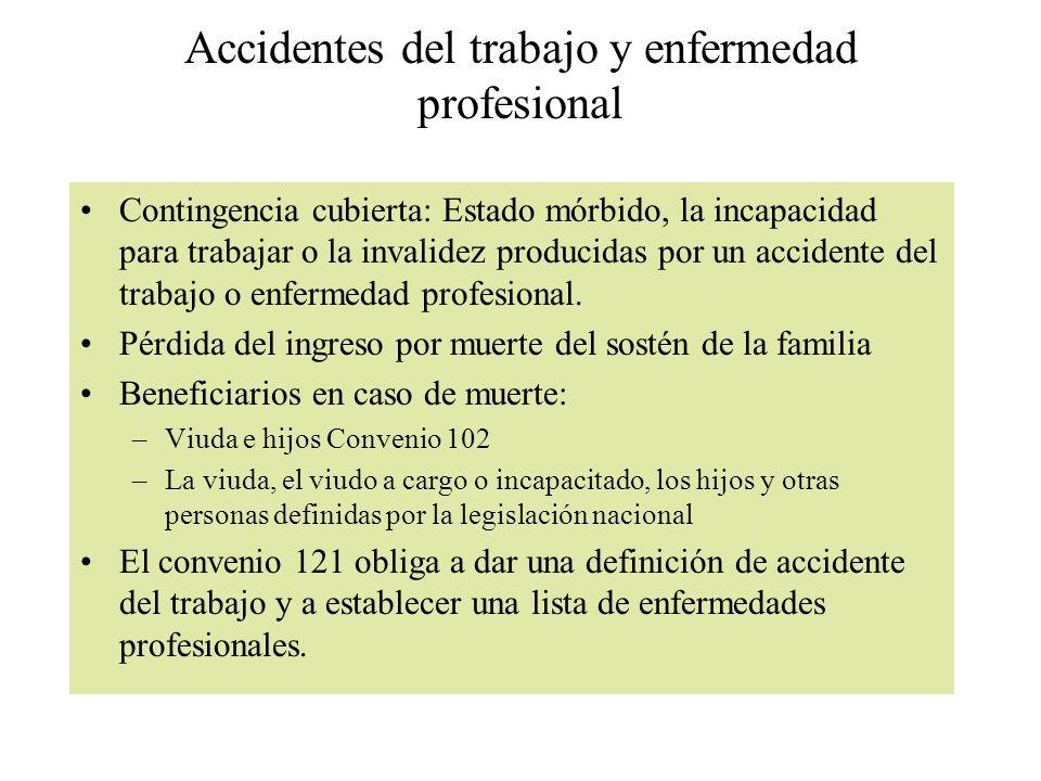 Accidentes del trabajo y enfermedad profesional