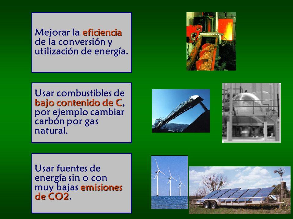 Mejorar la eficiencia de la conversión y utilización de energía.