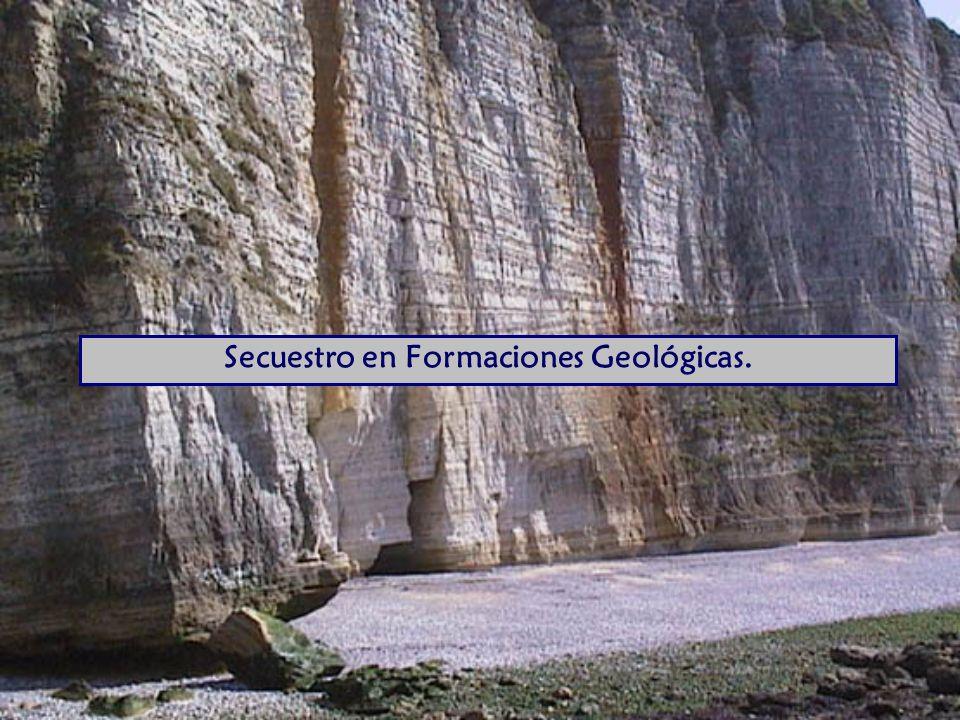 Secuestro en Formaciones Geológicas.
