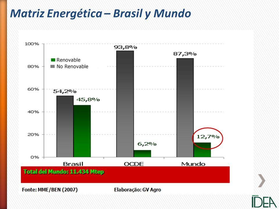 Matriz Energética – Brasil y Mundo