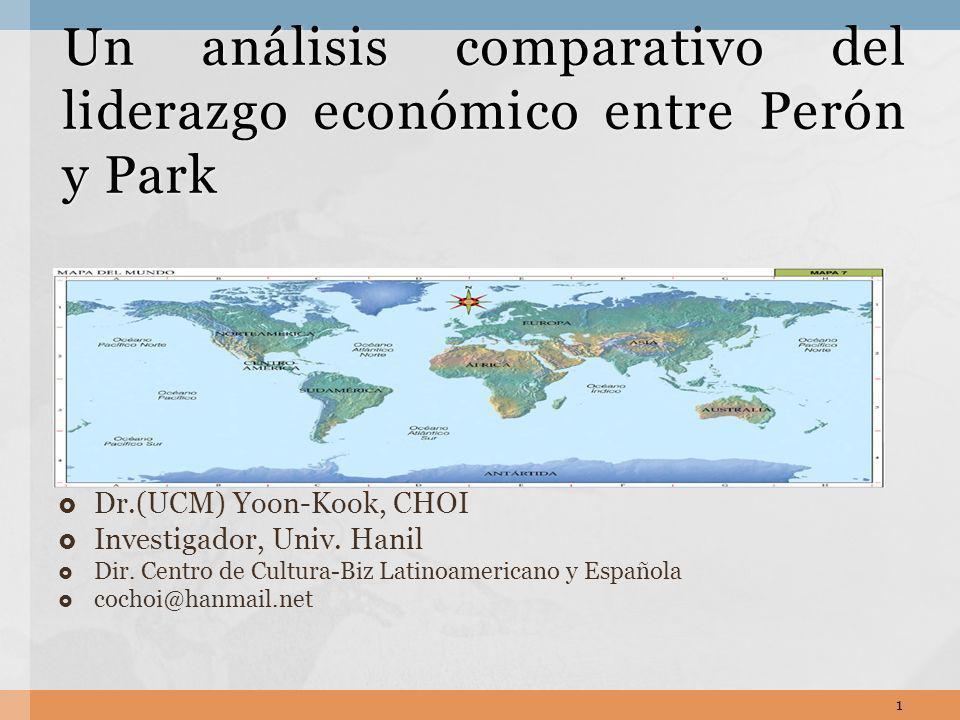 Un análisis comparativo del liderazgo económico entre Perón y Park