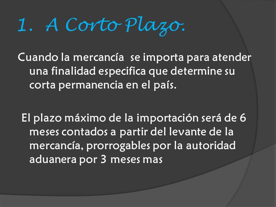 1. A Corto Plazo.