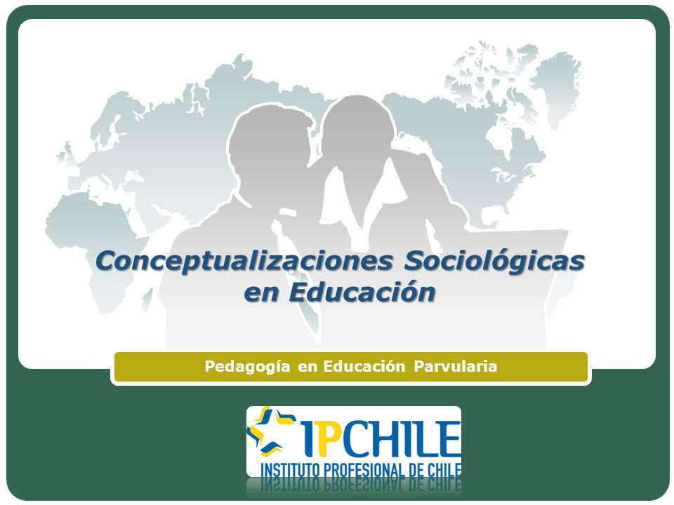Conceptualizaciones Sociológicas en Educación