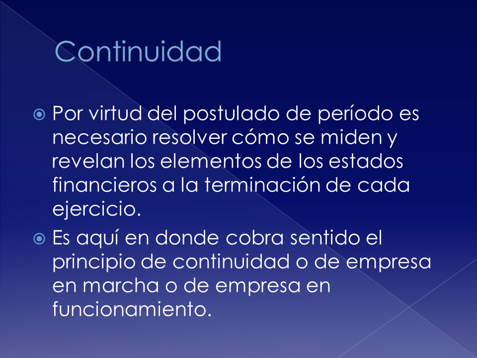 Continuidad