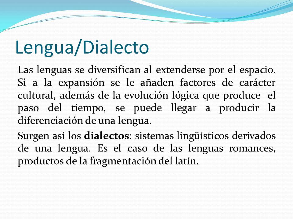 Lengua/Dialecto
