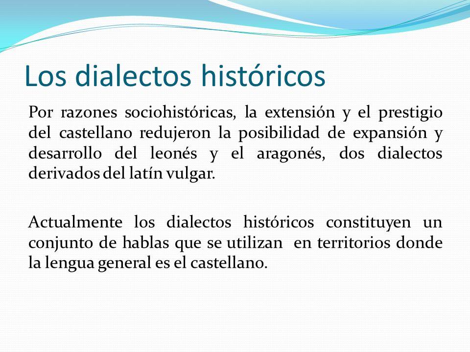 Los dialectos históricos