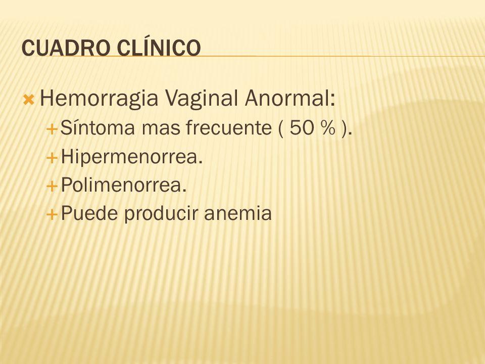 Hemorragia Vaginal Anormal: