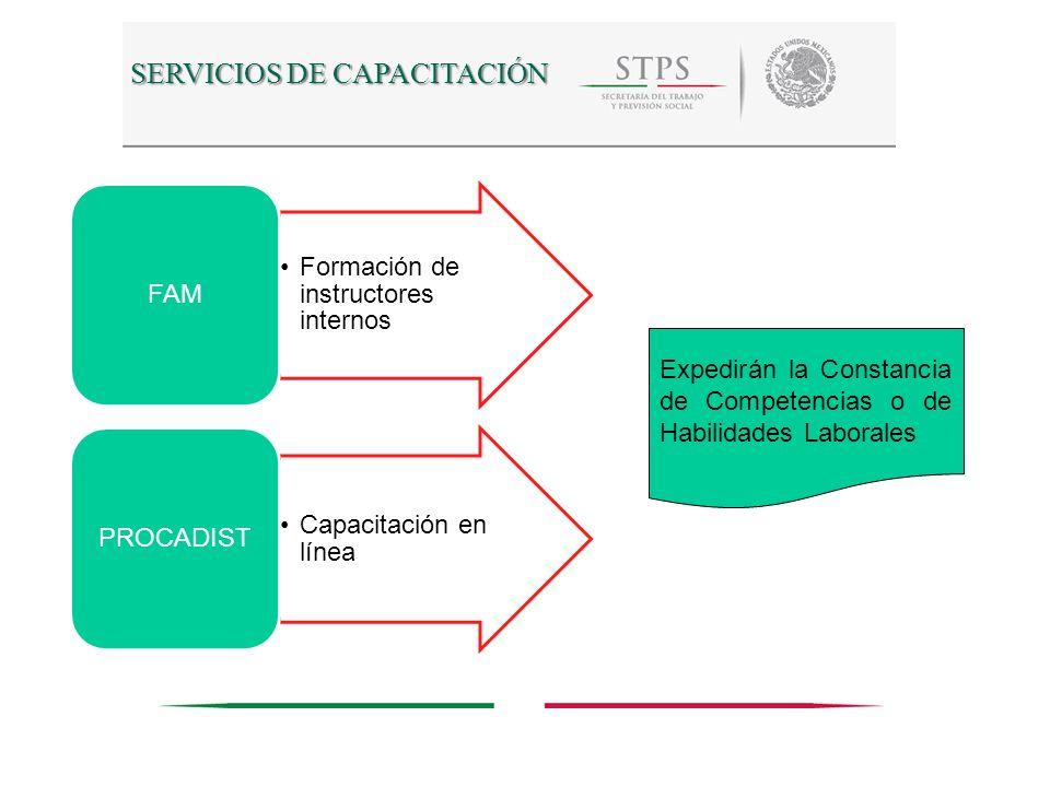 SERVICIOS DE CAPACITACIÓN