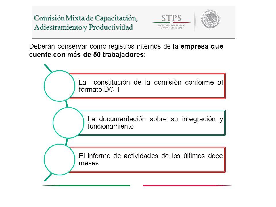 Comisión Mixta de Capacitación, Adiestramiento y Productividad