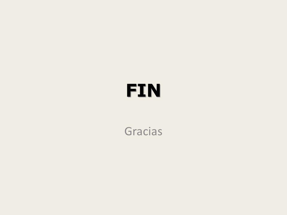 FIN Gracias