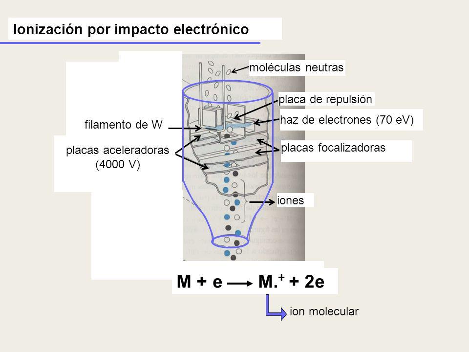 placas aceleradoras (4000 V)