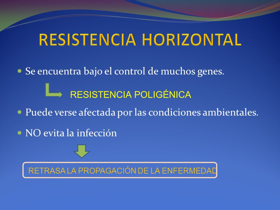 RESISTENCIA HORIZONTAL