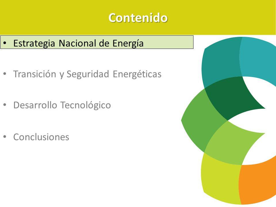 Contenido Estrategia Nacional de Energía