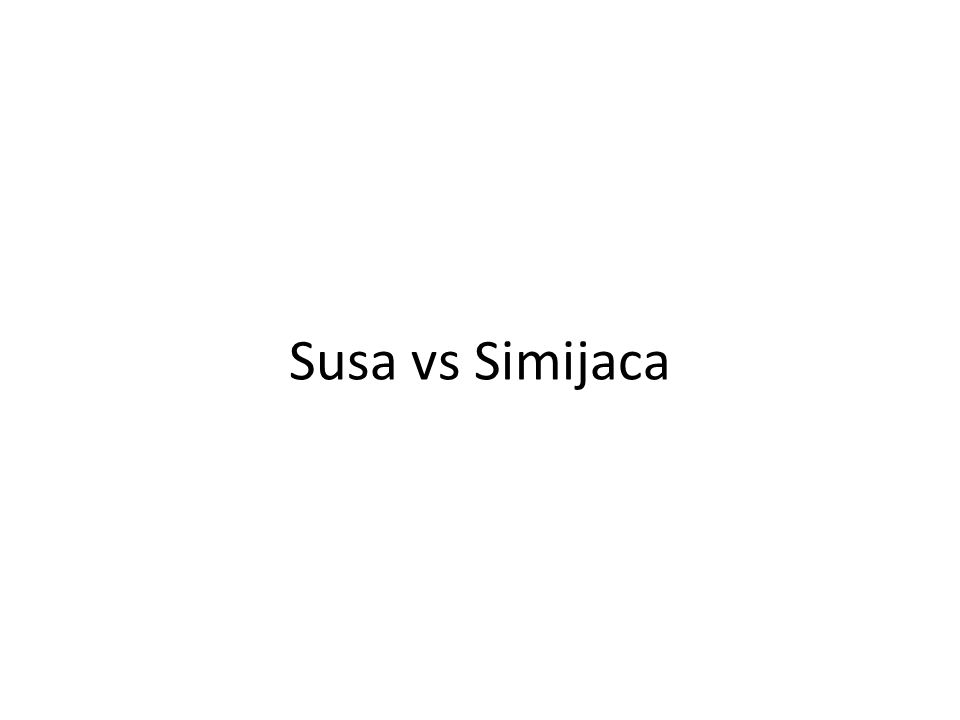 Susa vs Simijaca