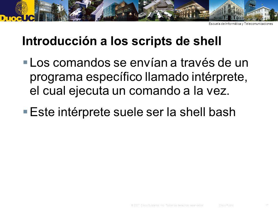 Introducción a los scripts de shell
