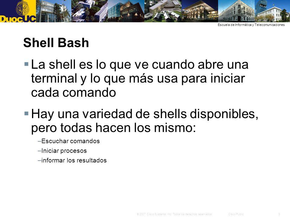 Hay una variedad de shells disponibles, pero todas hacen los mismo: