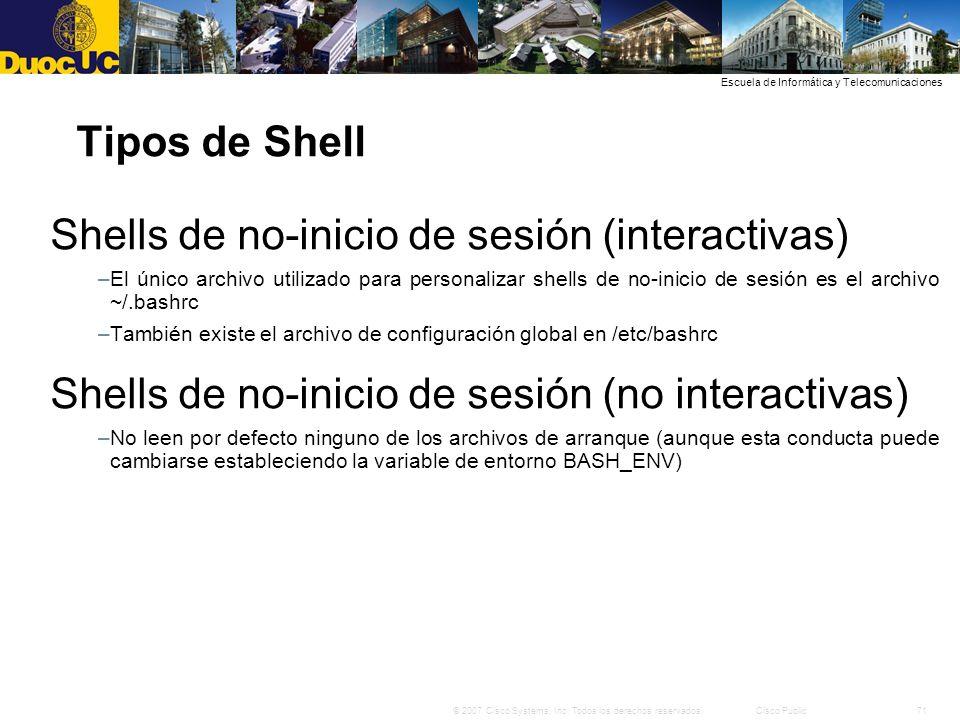 Shells de no-inicio de sesión (interactivas)