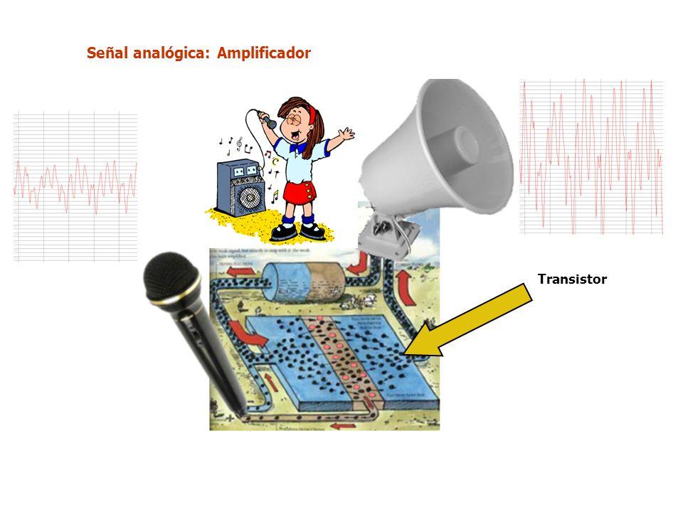 Señal analógica: Amplificador