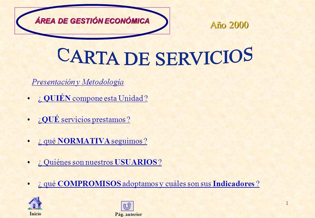 ÁREA DE GESTIÓN ECONÓMICA