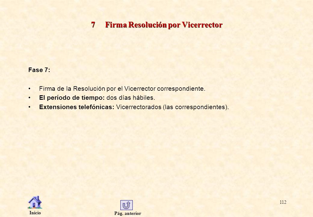 7 Firma Resolución por Vicerrector