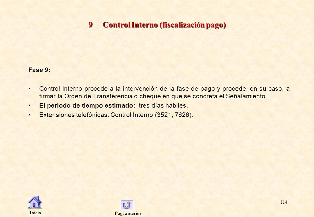 9 Control Interno (fiscalización pago)