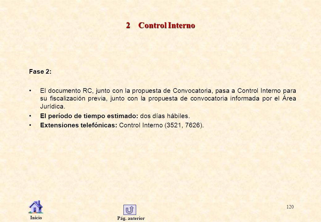 2 Control Interno Fase 2: