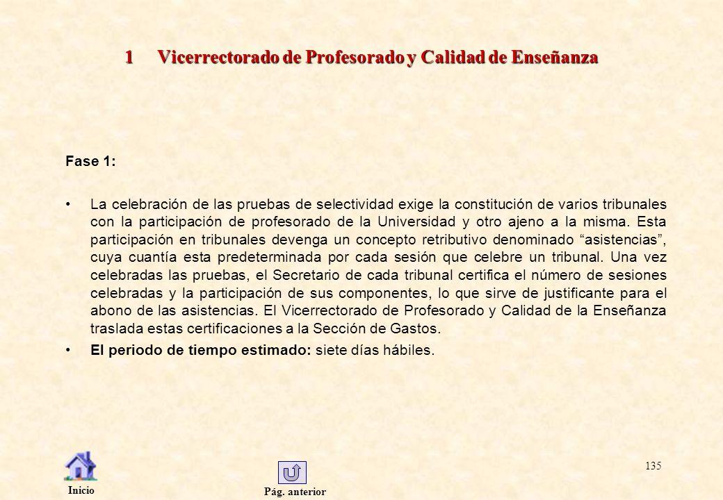 1 Vicerrectorado de Profesorado y Calidad de Enseñanza