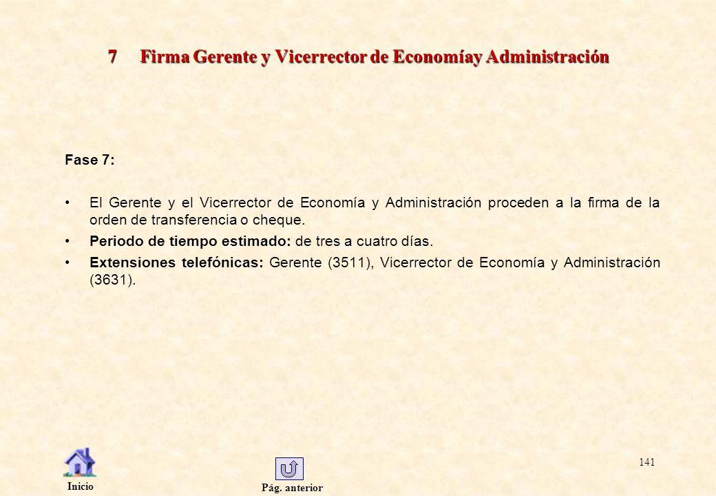 7 Firma Gerente y Vicerrector de Economíay Administración