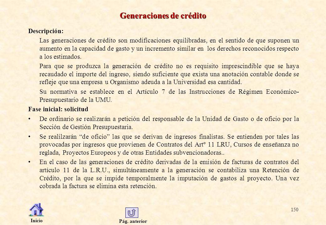 Generaciones de crédito