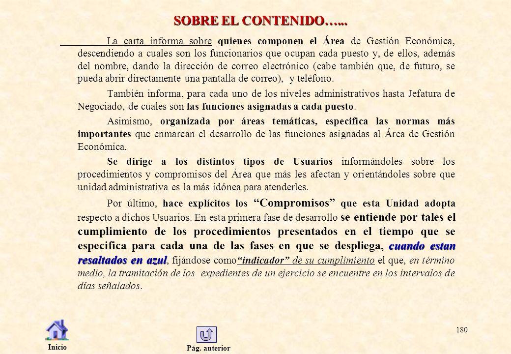 SOBRE EL CONTENIDO…...