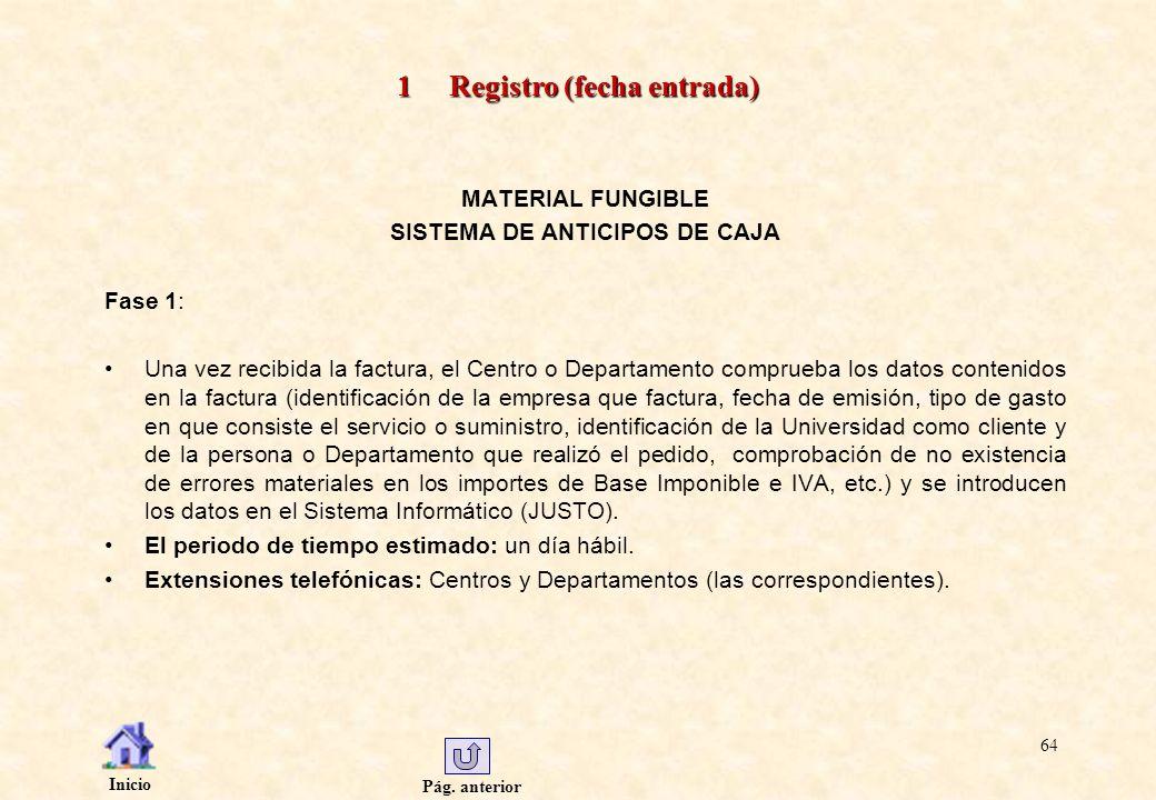 1 Registro (fecha entrada)