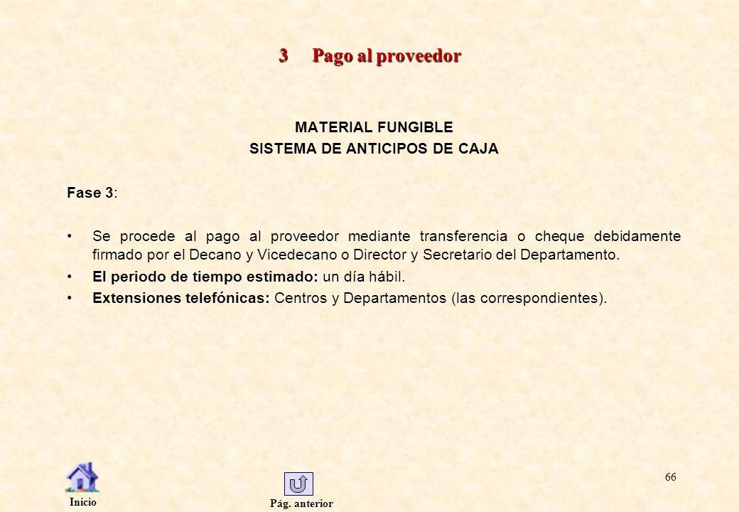 SISTEMA DE ANTICIPOS DE CAJA