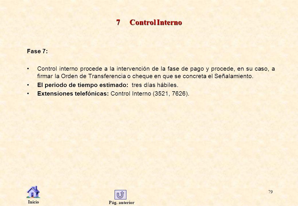 7 Control Interno Fase 7: