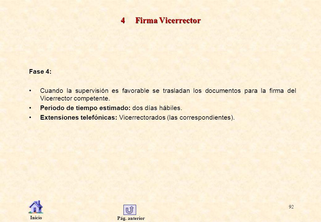 4 Firma Vicerrector Fase 4: